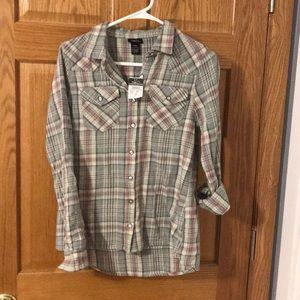 Brand new flannel shirt